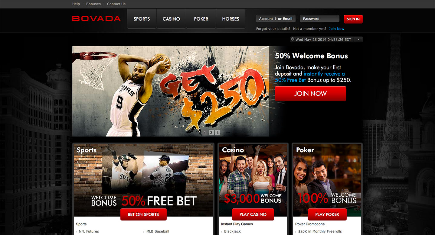 Bovada Sportsbook Review | NBA Betting Lines